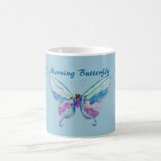 Soft Butterfly Basic White Mug