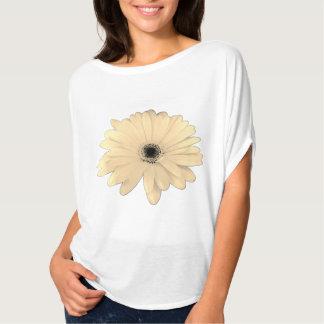Soft Champain Daisy accent T-Shirt