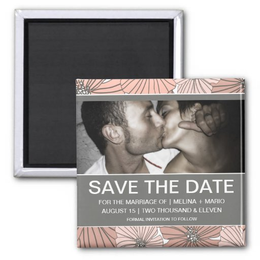 SOFT CHIC | SAVE THE DATE MAGNETS