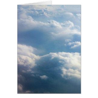 Soft Clouds Card