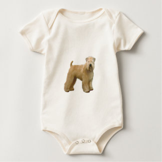 Soft Coated Wheaten Terrier (A)  - stand Baby Bodysuit