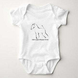 Soft Coated Wheaten Terrier Apparel Baby Bodysuit