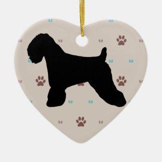 Soft Coated Wheaten Terrier Ceramic Ornament