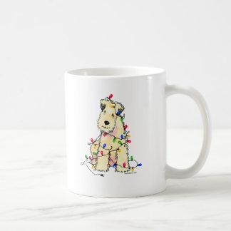 Soft Coated Wheaten Terrier - Christmas Coffee Mug