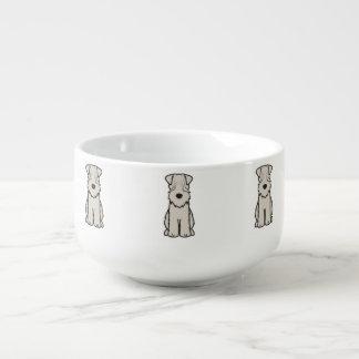 Soft Coated Wheaten Terrier Dog Cartoon Soup Mug