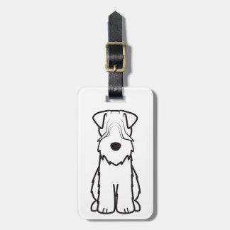Soft Coated Wheaten Terrier Luggage Tag