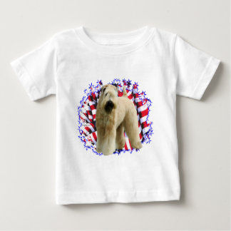 Soft Coated Wheaten Terrier Patriot Baby T-Shirt
