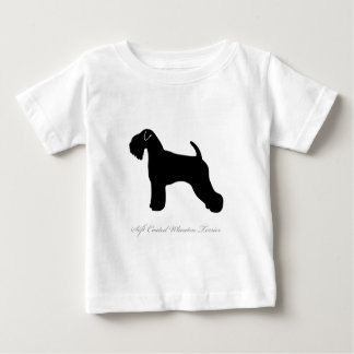 Soft Coated Wheaten Terrier silhouette Baby T-Shirt
