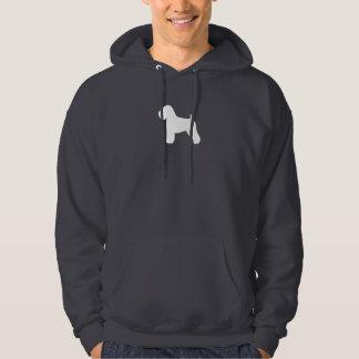 Soft Coated Wheaten Terrier Silhouette Hoodie