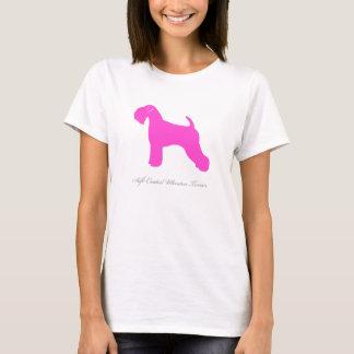Soft Coated Wheaten Terrier T-shirt (pink)