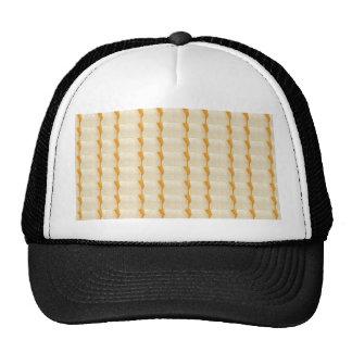 Soft Color: Decorative Somber Crystal Tile Pattern Trucker Hat