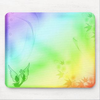 Soft Color Splash Mouse Pad