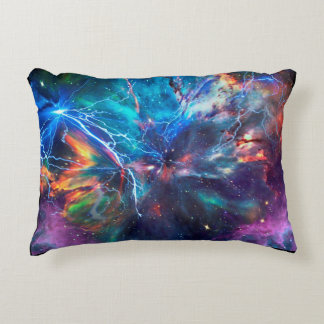 Soft Colorful Throw Pillow