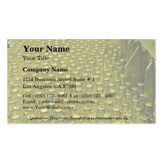 Soft drink factory pack of standard business cards