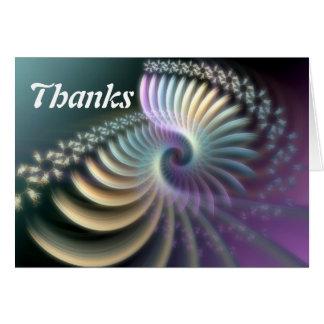 soft energy + thanks card