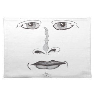 Soft Face Placemat