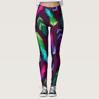 Soft Feathers Leggings
