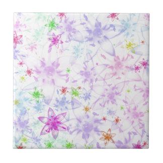 Soft Floral Ceramic Tile
