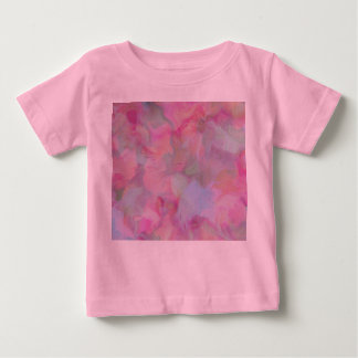 Soft Floral pink (I) Baby T-Shirt