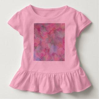 Soft Floral pink (I) Toddler T-Shirt