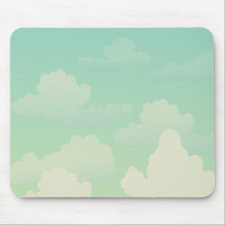 Soft fluffy clouds | Relaxing Mouse Pad