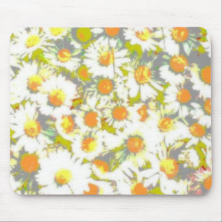 Soft Focus Daisies Mouse Pad