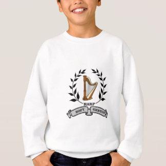 soft gentle harp sound sweatshirt