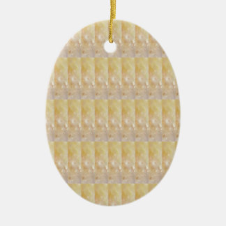 Soft Golden CRYSTAL pattern lowprice GIFTS NVN295 Ceramic Ornament