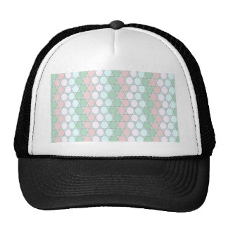 soft graphic pattern hats