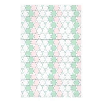 soft graphic pattern stationery paper