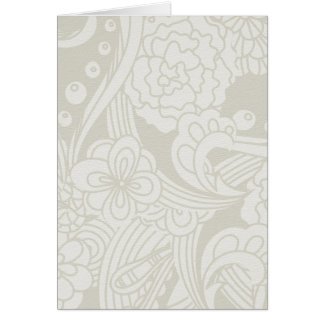 soft green flowers greeting cards