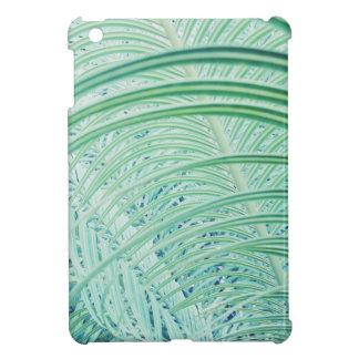 Soft Green Plant Palm Leaf iPad Mini Cover