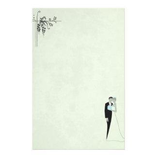 Soft Green Wedding Personalized Stationery