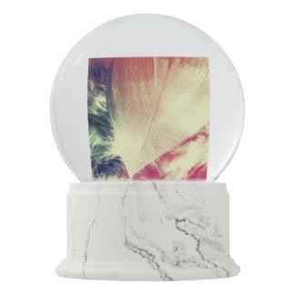 Soft Heart Snow Globe