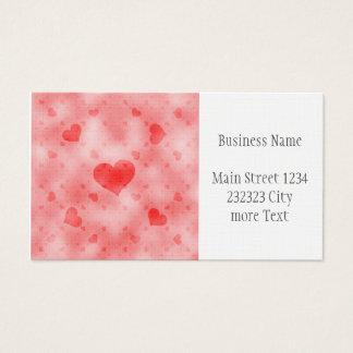 soft hearts B Business Card