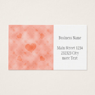 soft hearts C Business Card