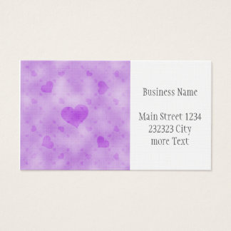 soft hearts D Business Card