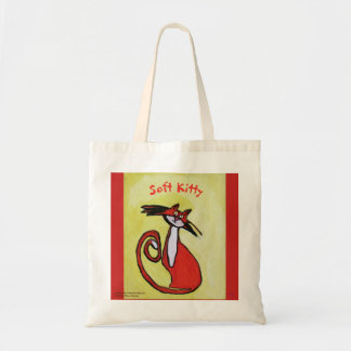 Soft Kitty Cat - Tote Bag