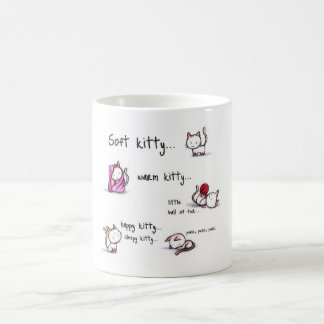 soft kitty coffee mug