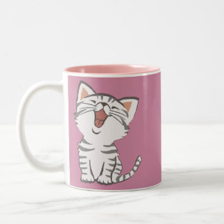 Soft Kitty Two-Tone Coffee Mug