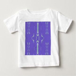 Soft Lavender Mint Green Artsy Pattern Baby T-Shirt