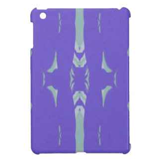 Soft Lavender Mint Green Artsy Pattern iPad Mini Cover