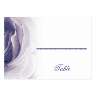 Soft Lavender Rose Place Card - Wedding Party Business Card Template