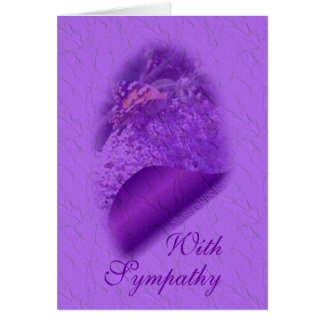 Soft LavTint Butterfly-customize any occasion Card