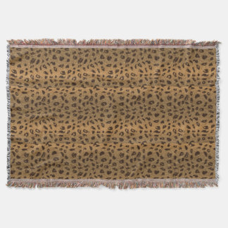 Soft Leopard Spots effect for Big Cat-lovers Throw Blanket