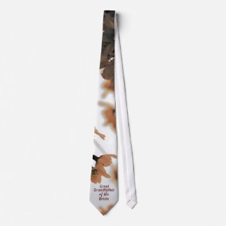 Soft Light Peach GREAT GRANDFATHER OF THE BRIDE Neckwear