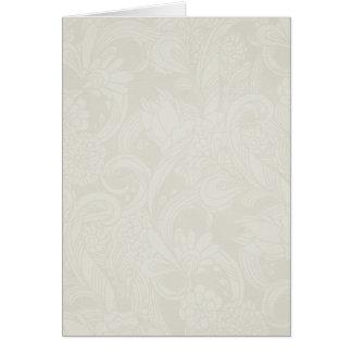 soft lightly flower greeting card