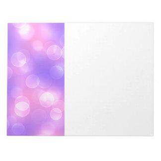 soft lights bokeh 1 notepad