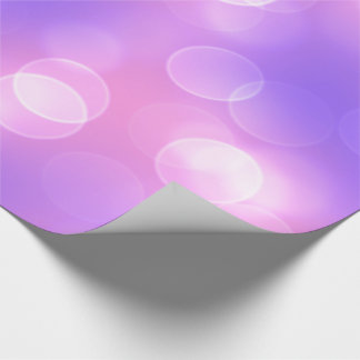 soft lights bokeh 1 wrapping paper