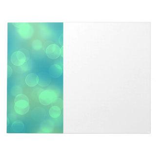 soft lights bokeh 1b notepad
